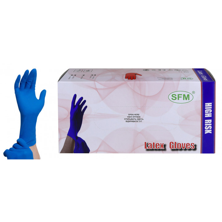 Перчатки сверхпрочные нестерильные неопудренные