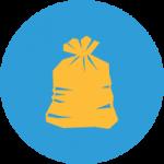 Мешки для мусора Ромашка
