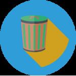 Урны уличные, офисные, стальные, для раздельного сбора мусора