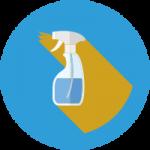 Инвентарь для мытья стекол, зеркал