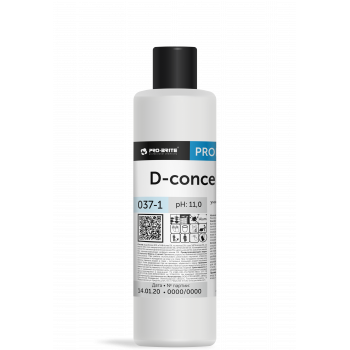 D-concentrate Универсальный низкопенный моющий концентрат