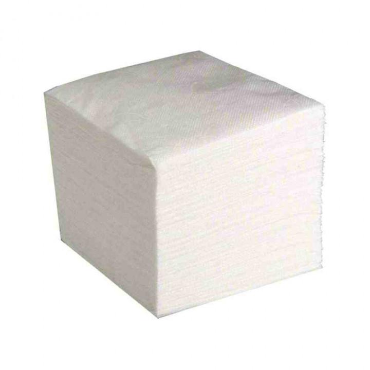 Салфетки бумажные однослойные, 100 шт