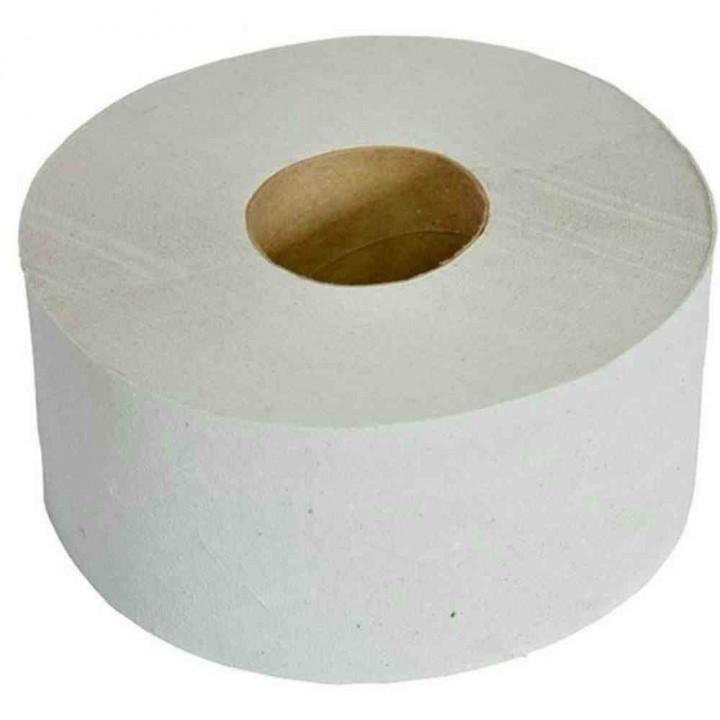 Туалетная бумага Макс 220 на втулке 1-слойная для диспенсеров, 170 метров