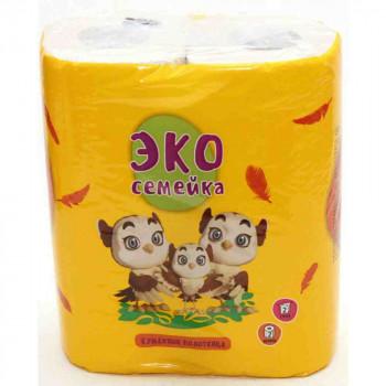 Бумажные полотенца ЭкоСемейка Н.Челны, 2х25м