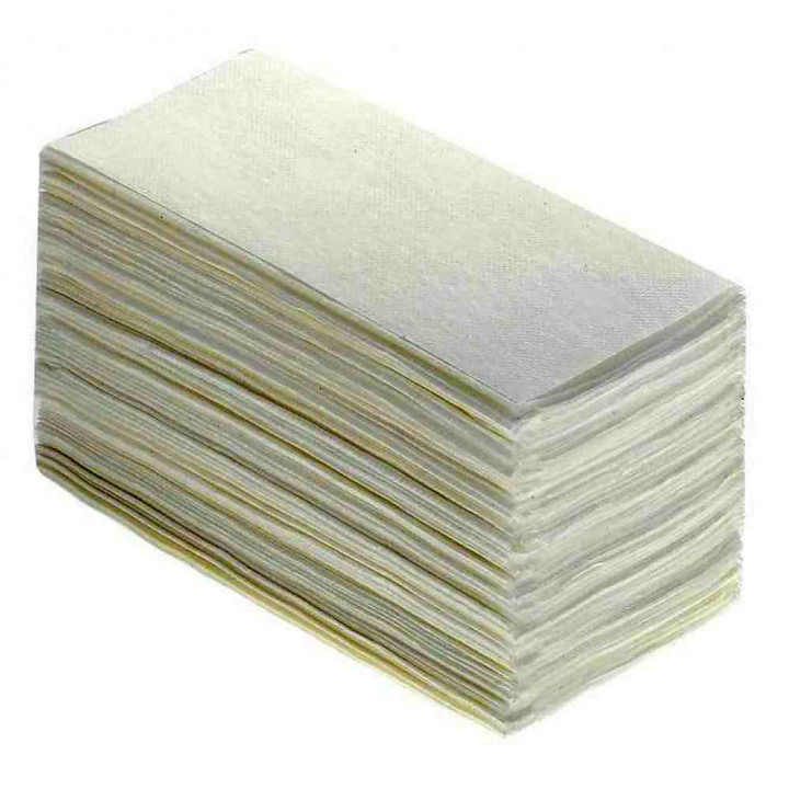 Бумажные полотенца V-сложения 1-слойные, 250 листов 35гр