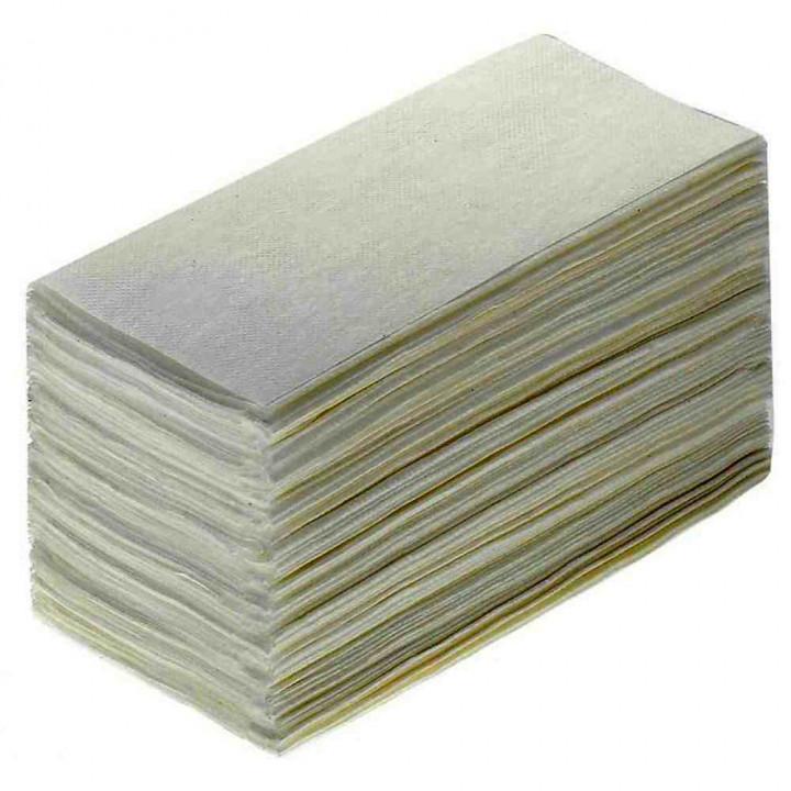 Бумажные полотенца V-сложение 35гр 1-слойные, 200 листов