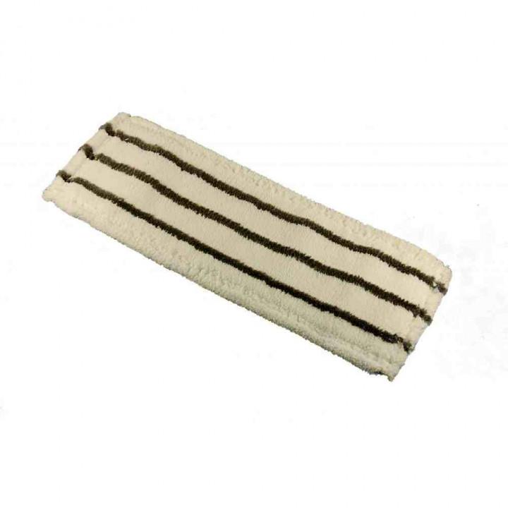Моп микрофибра повышенной плотности с полосами скольжения 40см, Т-образный язык