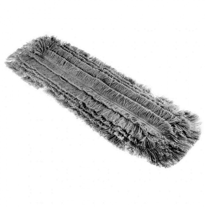 Моп хлопковый разрезной 60см серый