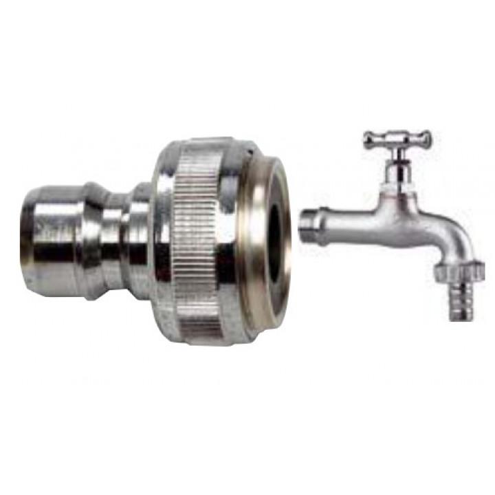 """Быстроразъемное соединение подходит для большинства водопроводных кранов 1/2""""–3/4"""" – М22х1"""