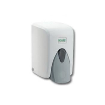 Дозатор д/мыла 0,5л VIALLI ABS-пластик белый (кнопка ув размера)
