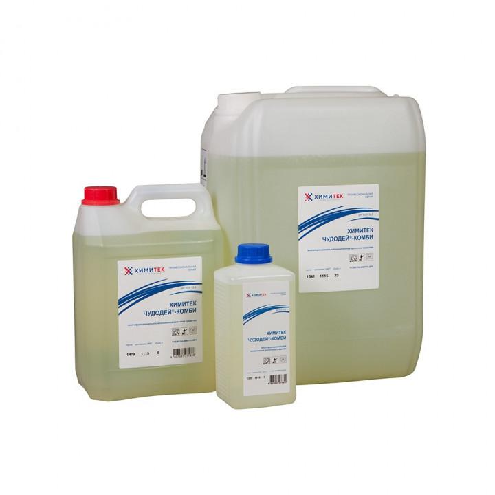 Чудодей-Комби многофункциональное концентрированное жидкое низкопенное щелочное средство