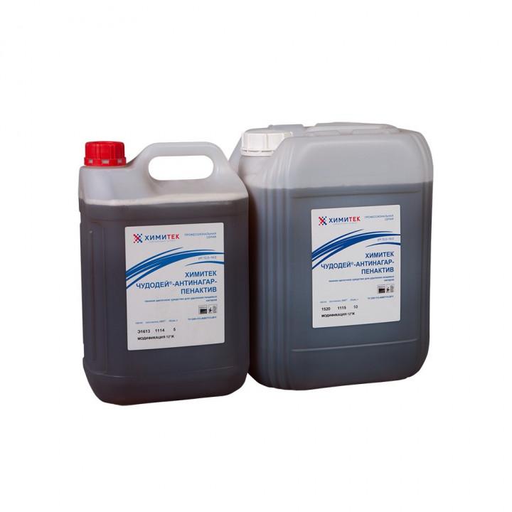 Чудодей-Антинагар-Пенактив модификация 12°Ж концентрированное жидкое пенное щелочное средство для удаления пищевых нагаров