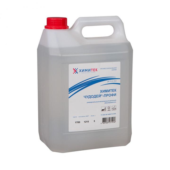 Чудодей-Профи универсальный концентрированный жидкий низкопенный щелочной обезжириватель