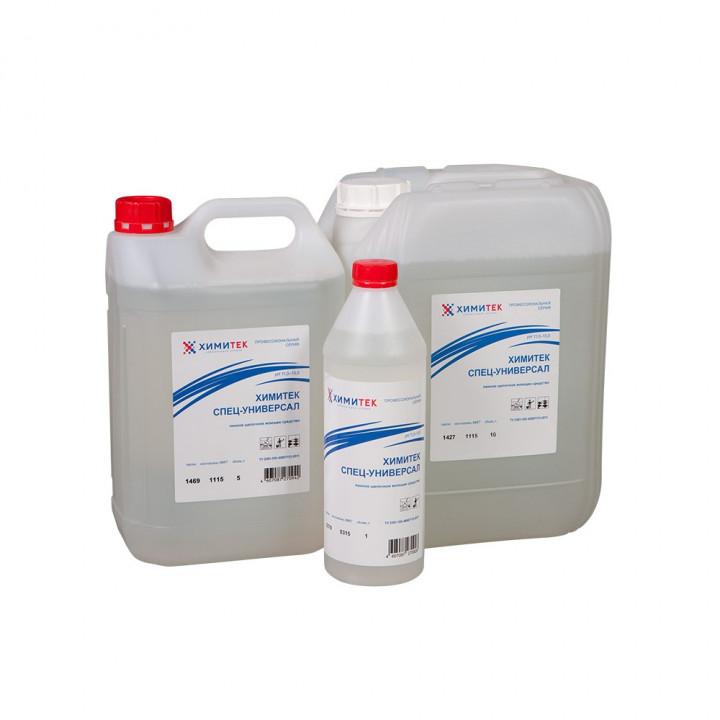 Химитек Спец-Универсал концентрированное жидкое пенное щелочное моющее средство
