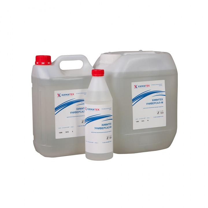 Универсал-М концентрированное жидкое щелочное низкопенное моющее средство
