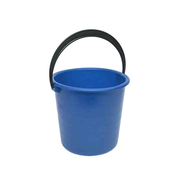 Ведро хозяйственное цветное мягкое 5 л, Ханпласт