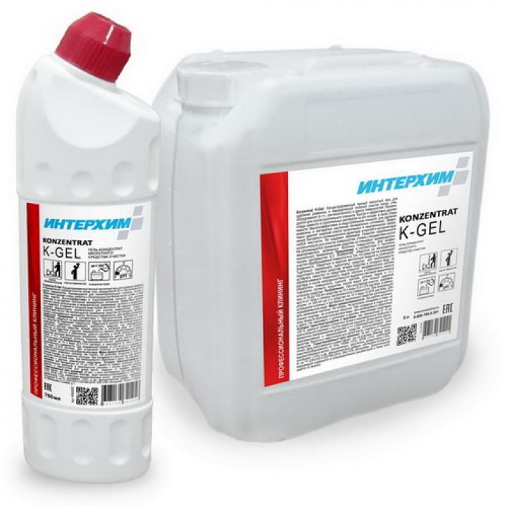 ИнтерХим Гель-концентрат кислот ср-ва очистки K-GEL 5 л