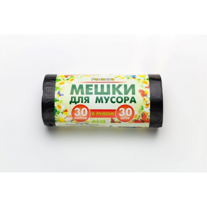 МЕШКИ РОМАШКА НА 60Л - 50 ШТ/РУЛ, 7,3 МКН